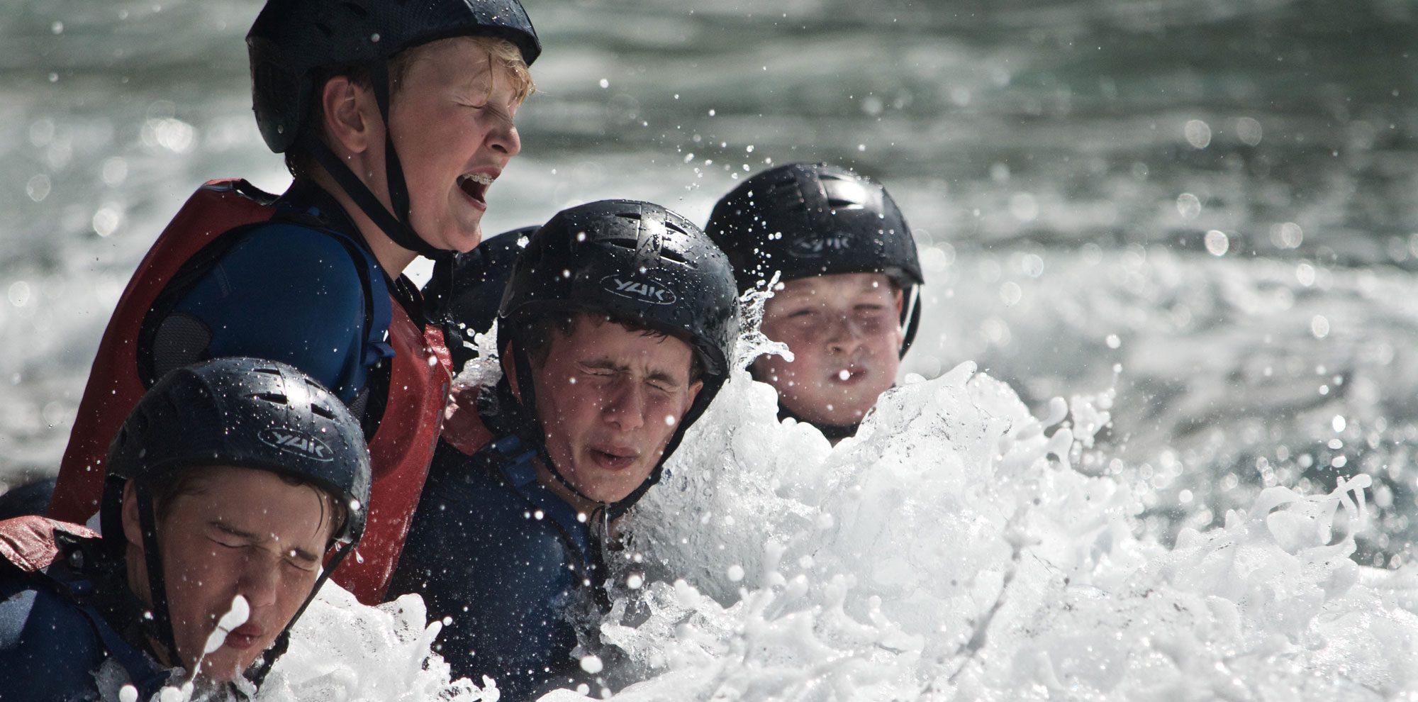 Coasteering in Eastern Scotland