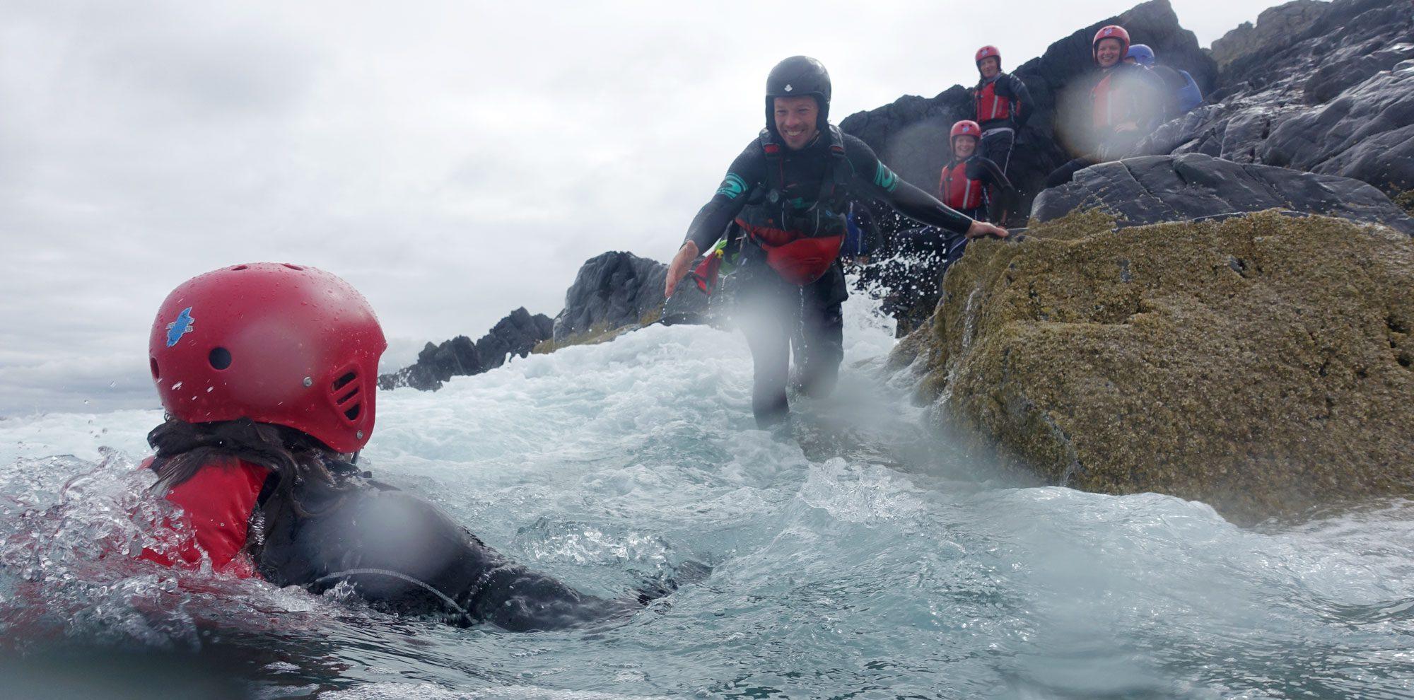 Coasteering in Northern Ireland